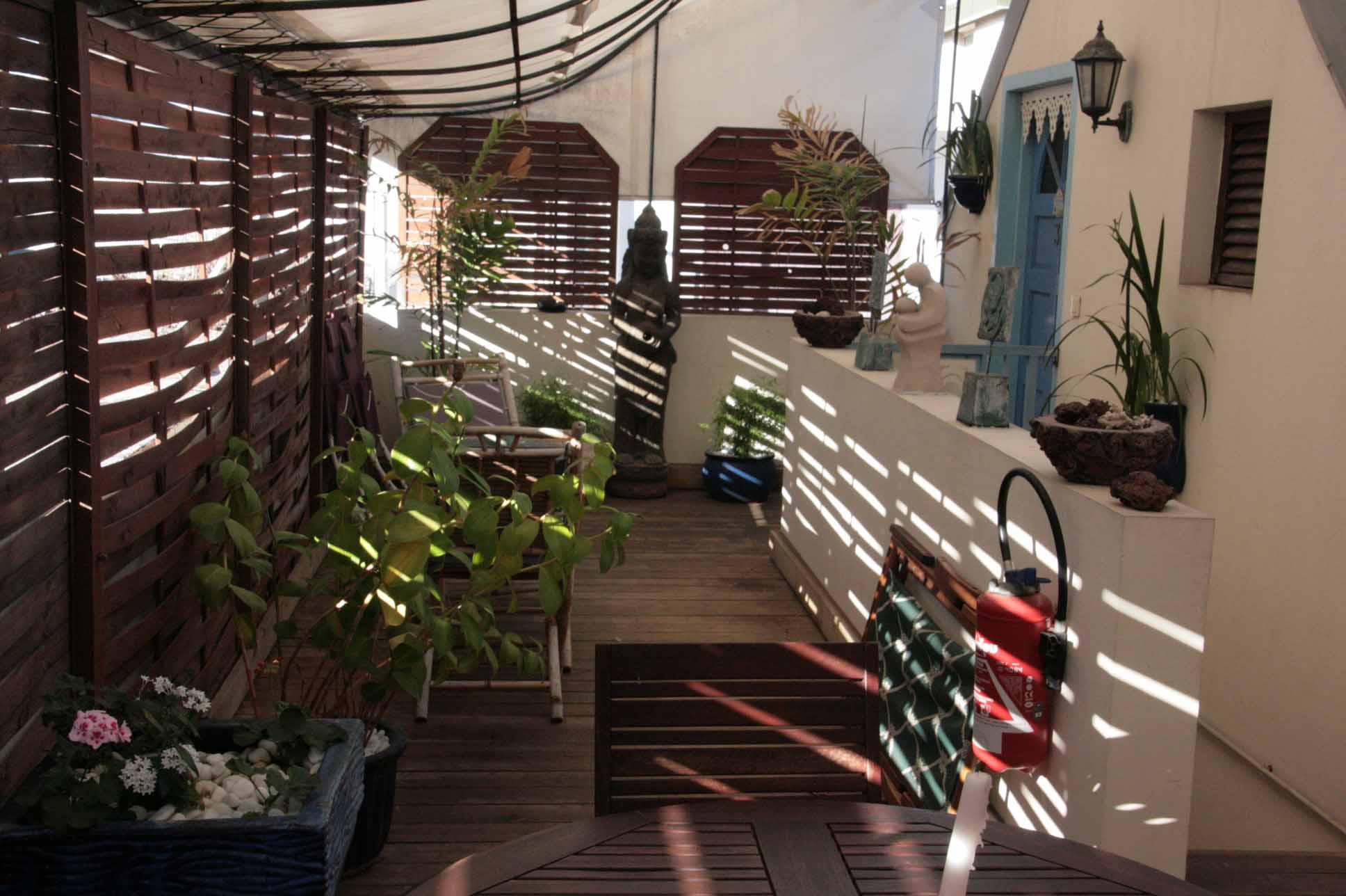Terrasse et Patio - Résidence Le Blason